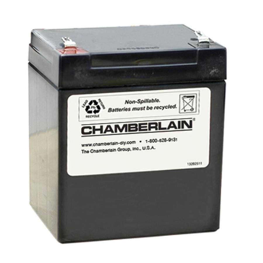 Chamberlain replacement garage door opener battery 4228 for 12v battery garage door opener