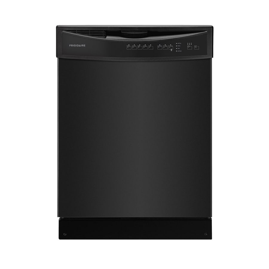 Frigidaire 54-Decibel Built-in Dishwasher with Hard Food Disposer (Black) (Common: 24-in; Actual 24-in) ENERGY STAR