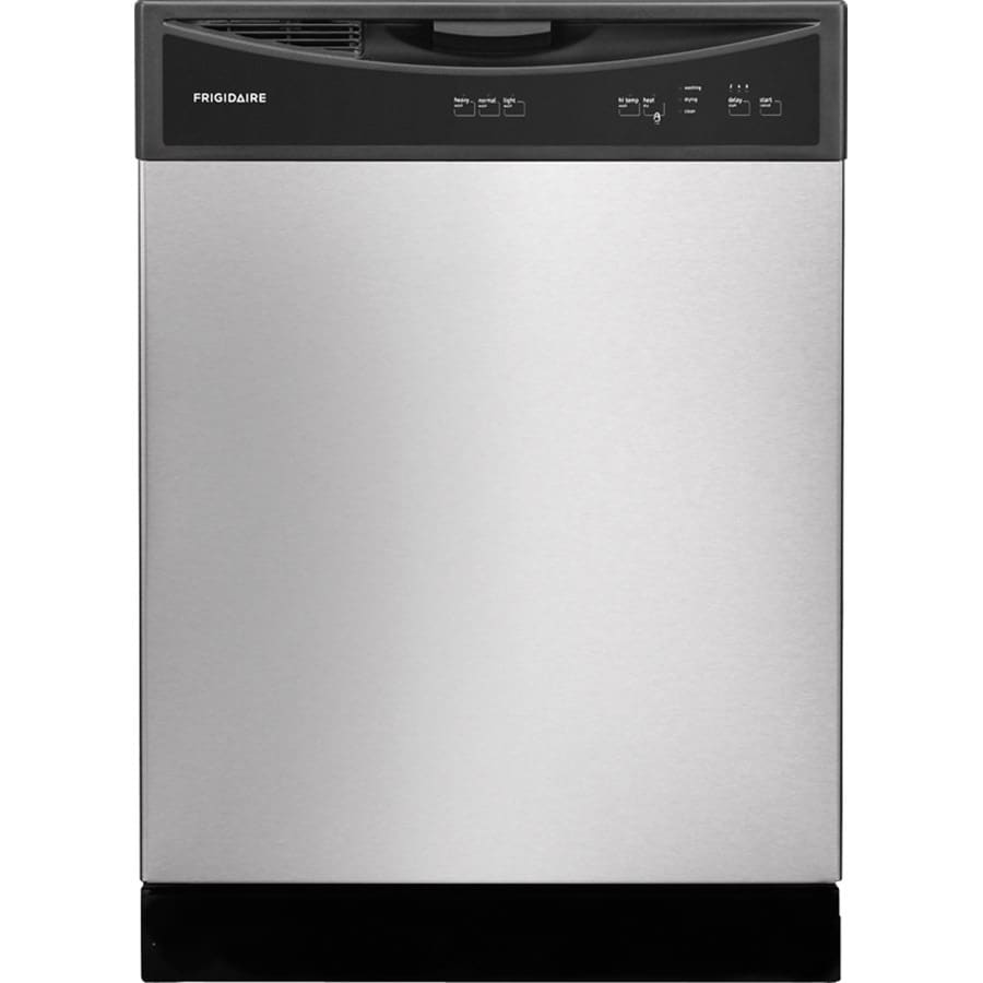 Frigidaire 2406 Series 60-Decibel Built-in Dishwasher (Stainless Steel) (Common: 24-in; Actual: 24-in)