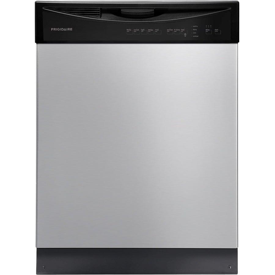 Frigidaire 2411 Series 55-Decibel Built-In Dishwasher (Stainless Steel) (Common: 24-in; Actual: 24-in)