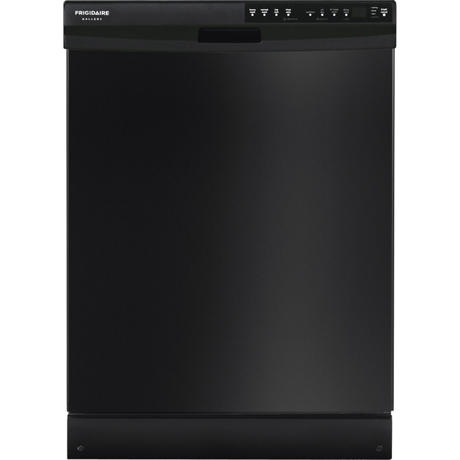 Frigidaire Gallery 55-Decibel Built-In Dishwasher with Hard Food Disposer (Black) (Common: 24-in; Actual: 24-in) ENERGY STAR