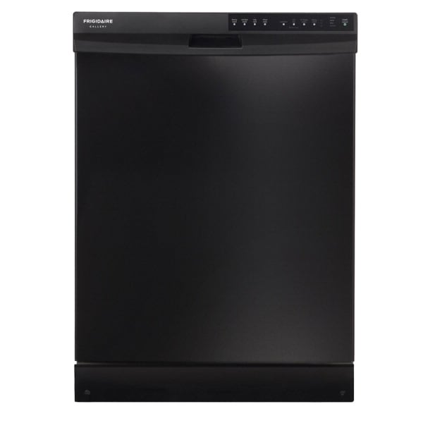 Frigidaire Gallery 55-Decibel Built-in Dishwasher with Hard Food Disposer (Black) (Common: 24-in; Actual: 24-in)
