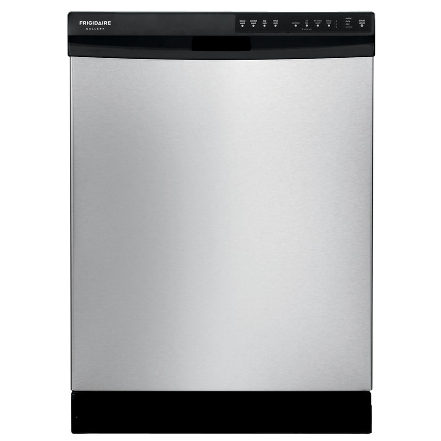 Frigidaire Gallery Bladespray 55-Decibel Built-in Dishwasher with Hard Food Disposer (Stainless Steel) (Common: 24-in; Actual: 24-in)