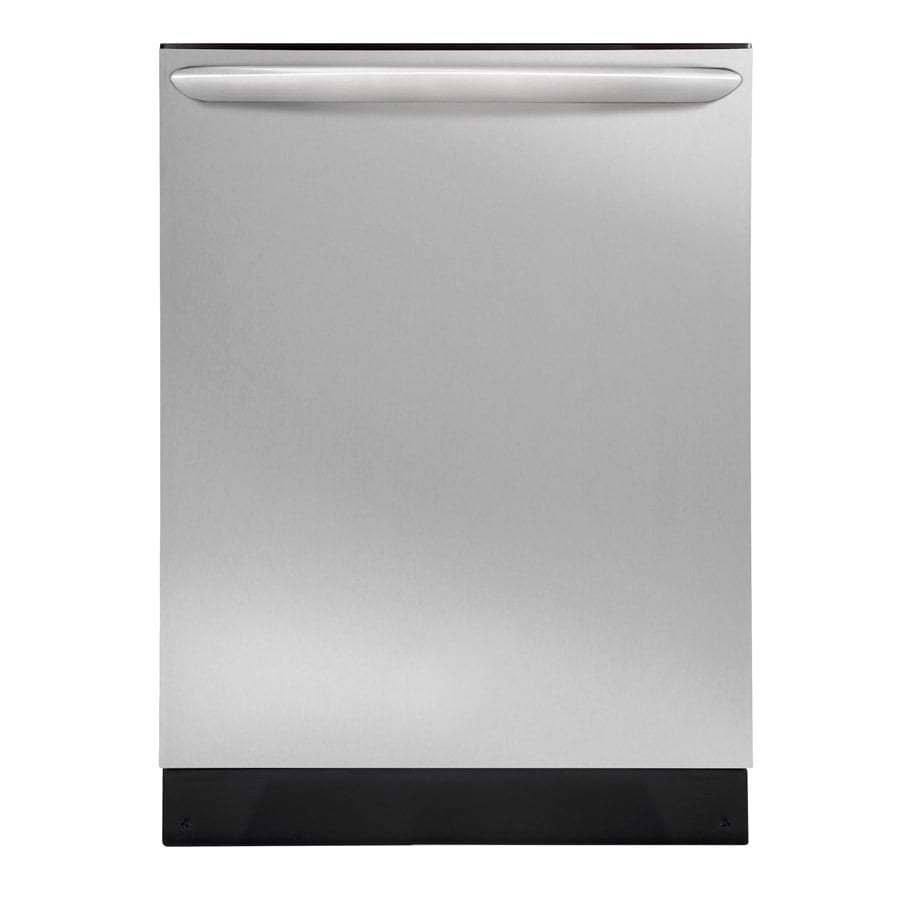 Frigidaire 51-Decibel Built-In Dishwasher with Hard Food Disposer (Stainless Steel) (Common: 24-in; Actual 24-in) ENERGY STAR