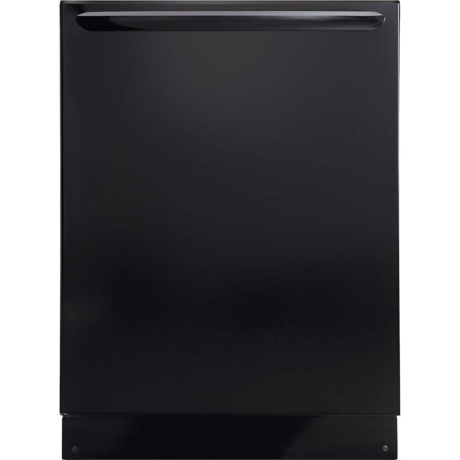 Frigidaire Gallery 52-Decibel Built-in Dishwasher with Hard Food Disposer (Black) (Common: 24-in; Actual: 24-in) ENERGY STAR