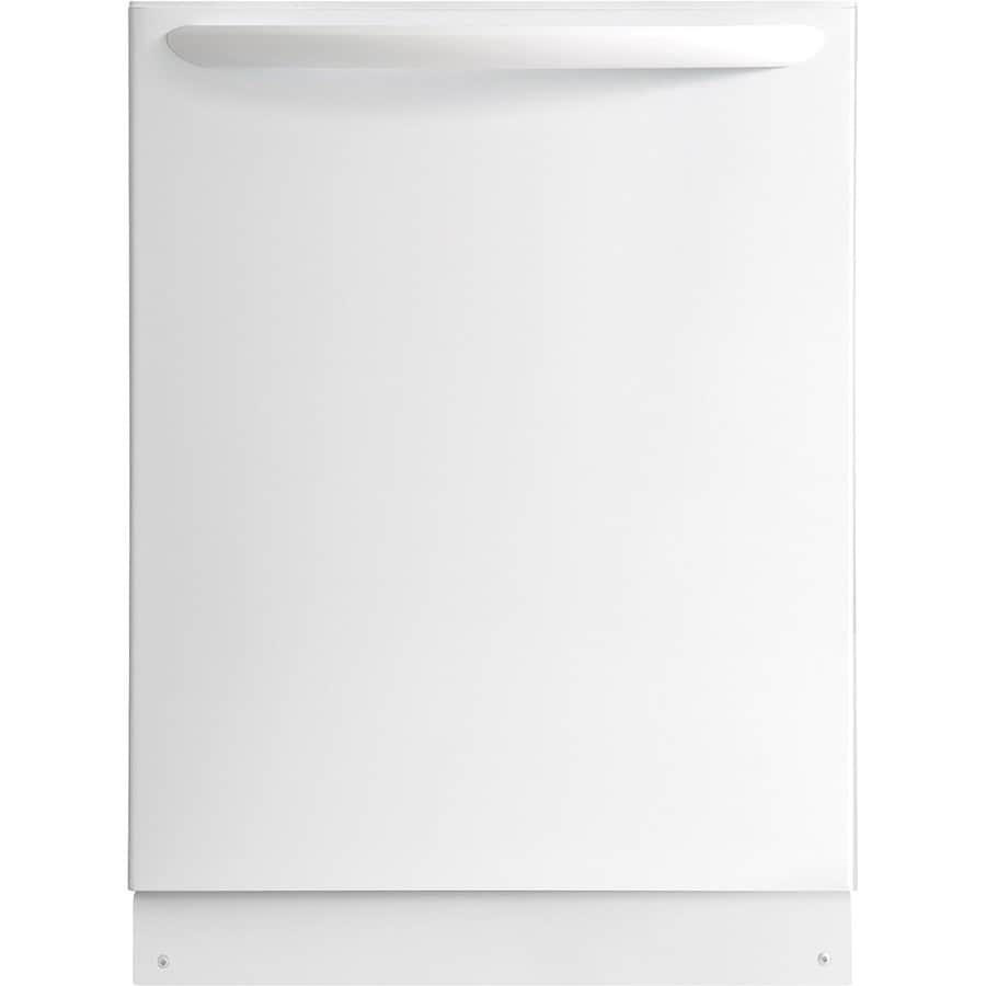 Frigidaire Gallery 52-Decibel Built-In Dishwasher with Hard Food Disposer (White) (Common: 24-in; Actual: 24-in) ENERGY STAR
