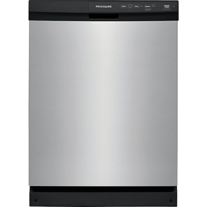 Frigidaire 60-Decibel Front Control 24-in Built-In Dishwasher (Stainless Steel) ENERGY STAR