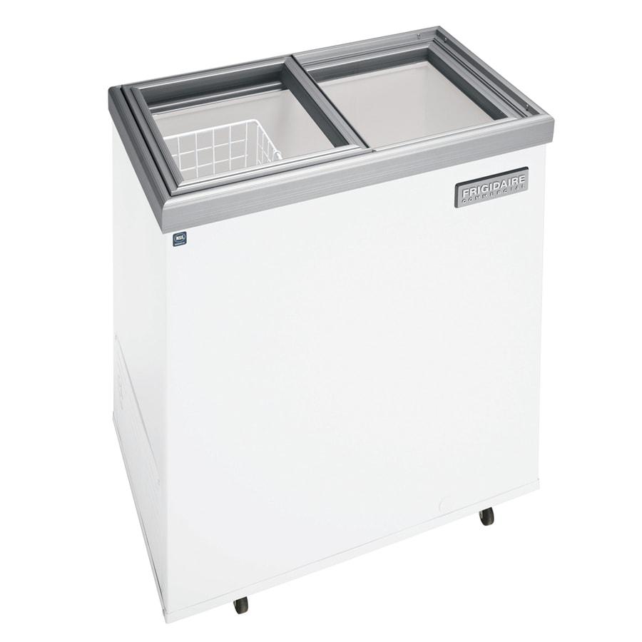 Frigidaire 7.2-cu ft Commercial Chest Freezer (White) ENERGY STAR