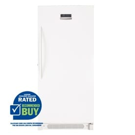 Frigidaire 16.6-cu ft Upright Freezer (White) ENERGY STAR