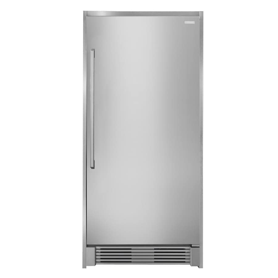 Electrolux 18.6-cu ft Freezerless Refrigerator (Stainless Steel) ENERGY STAR