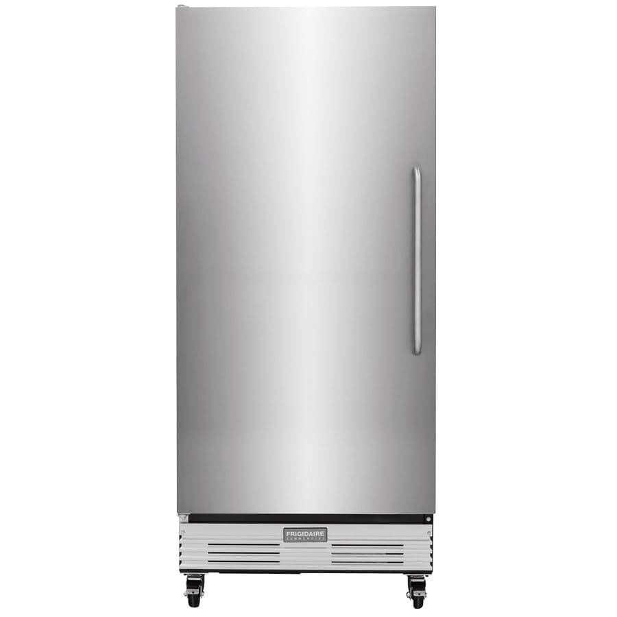 shop frigidaire 17 9 cu ft frost free freestanding commercial upright freezer stainless steel. Black Bedroom Furniture Sets. Home Design Ideas