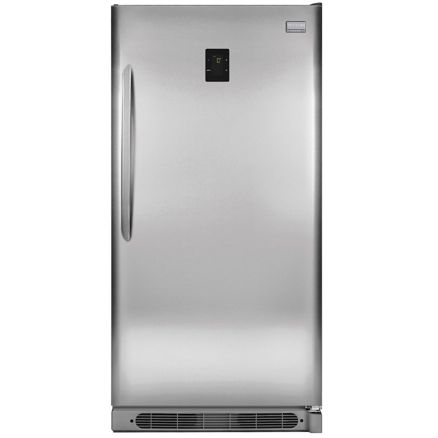 Frigidaire Gallery Convertible 16.63-cu ft Frost-Free Upright Freezer (Stainless Steel) ENERGY STAR