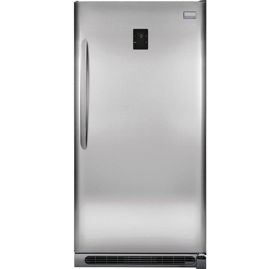 Frigidaire Gallery 20.5-cu ft Upright Freezer (Stainless Steel) ENERGY STAR