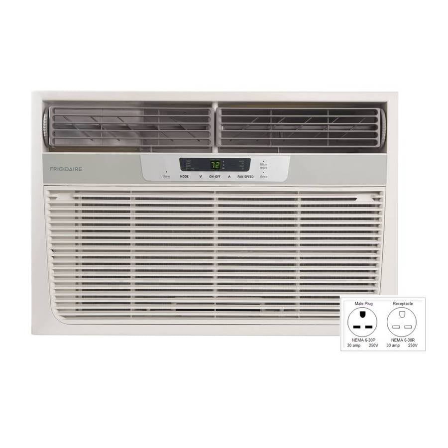 Frigidaire 18,500-BTU 1,170-sq ft 230-Volt Window Air Conditioner with Heater