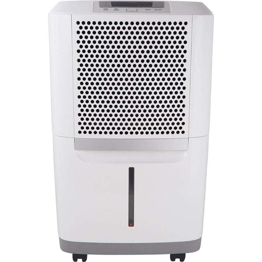 shop frigidaire 50 pint 2 speed dehumidifier energy star at