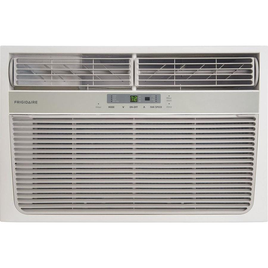Shop frigidaire 8 000 btu 350 sq ft 115 volt window air for 18 000 btu window air conditioner