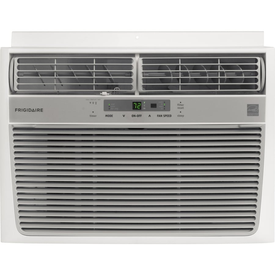 Shop frigidaire 10 000 btu 450 sq ft 115 volt window air for 18 000 btu window air conditioner