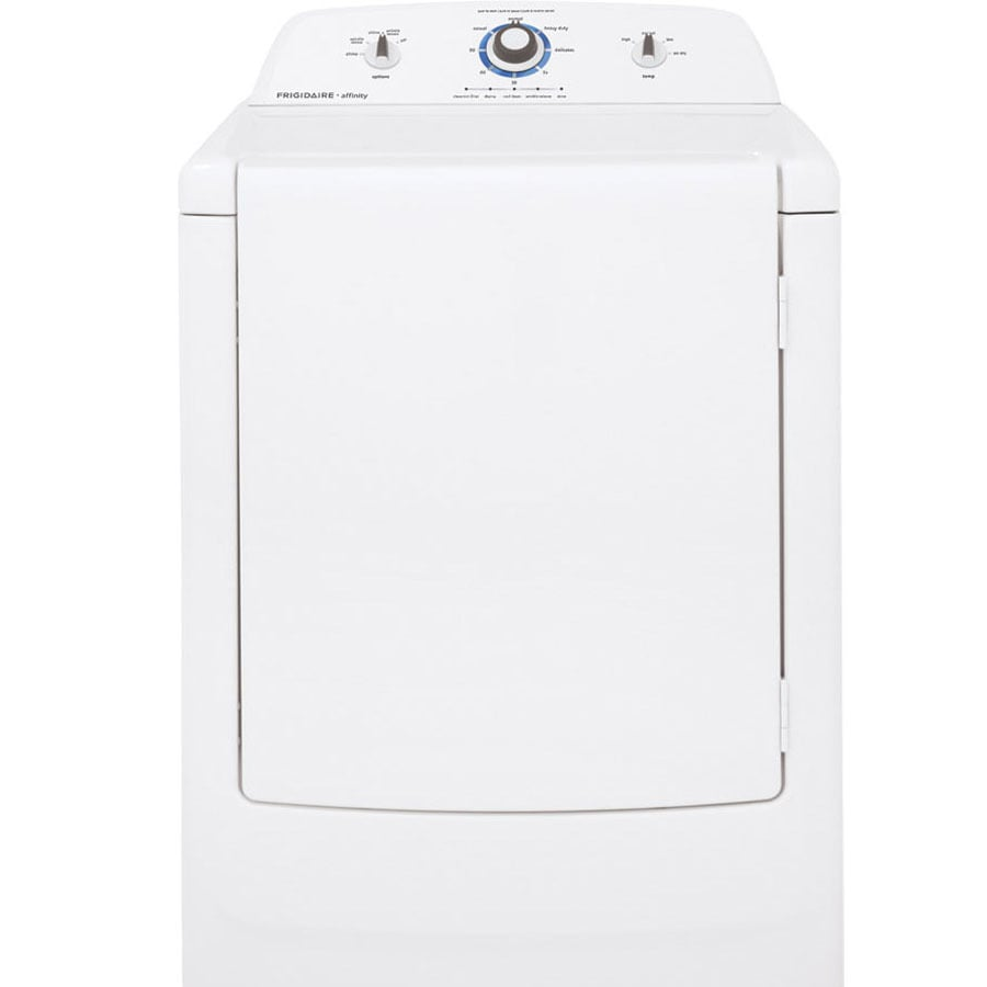 Frigidaire Affinity 7-cu ft Gas Dryer (White)