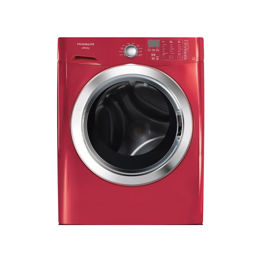 Frigidaire Affinity 3.9-cu ft High-Efficiency Front-Load Washer (Classic Red) ENERGY STAR