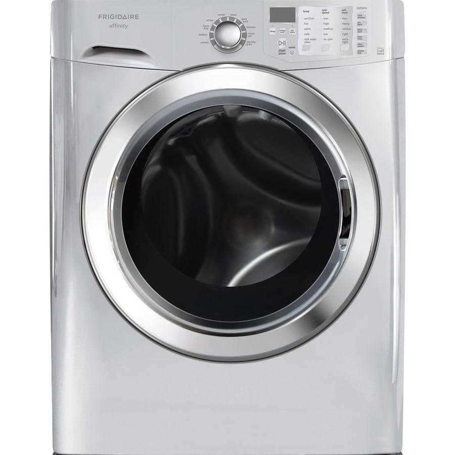 Frigidaire Affinity 3.9-cu ft High-Efficiency Front-Load Washer (Classic Silver) ENERGY STAR