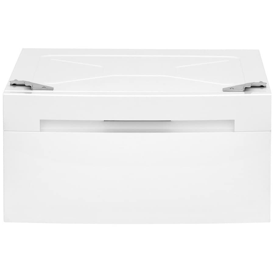 Electrolux 15-in x 23.625-in White Laundry Pedestal with Storage Drawer