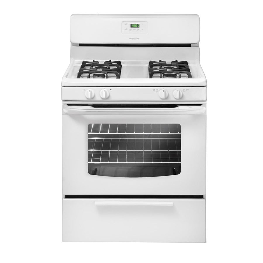 Shop Frigidaire Freestanding 4 2 Cu Ft Gas Range White