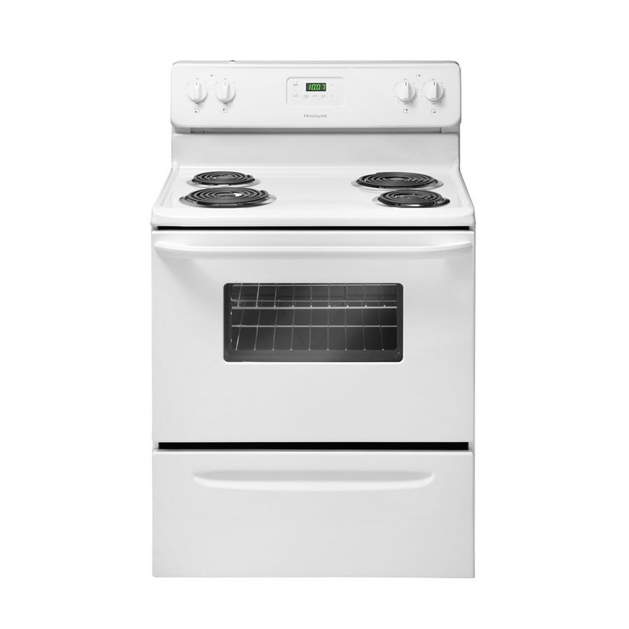 Frigidaire 3011 Series Freestanding 4.2-cu ft Electric Range (White) (Common: 30-in; Actual: 29.88-in)