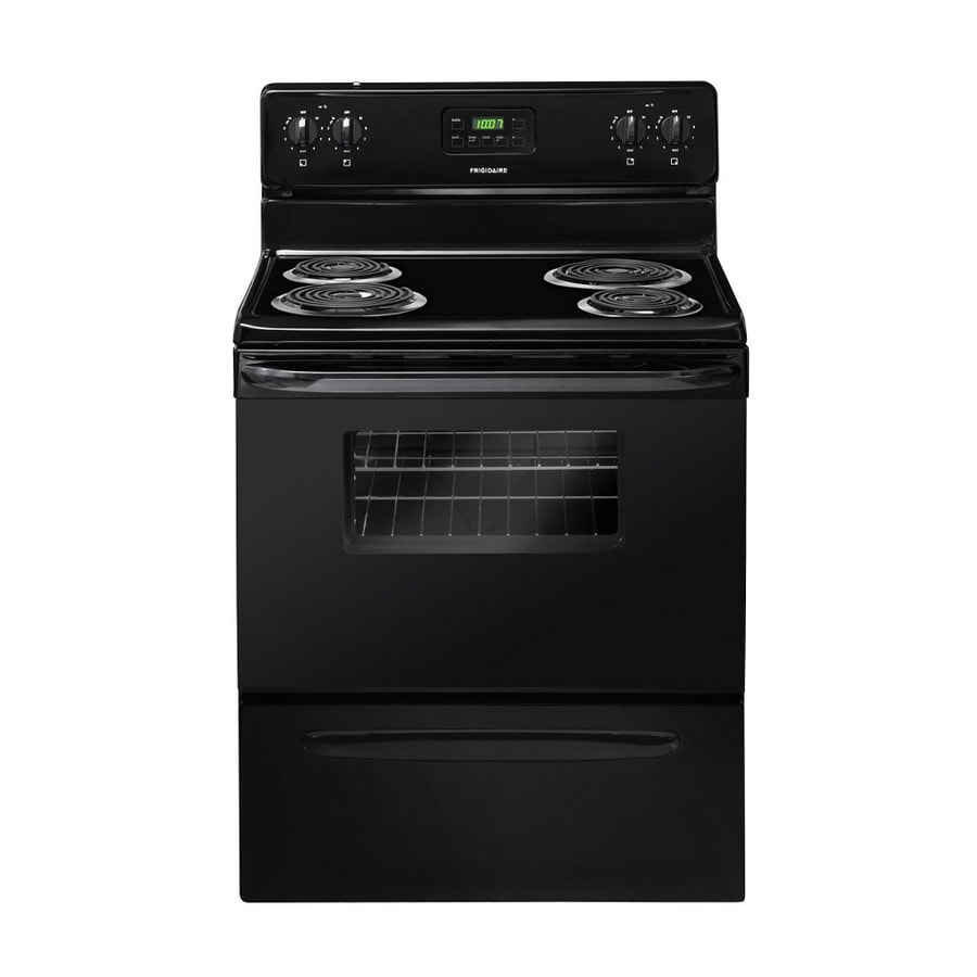 Frigidaire 3011 Series Freestanding 4.2-cu ft Electric Range (Black) (Common: 30-in; Actual: 29.88-in)