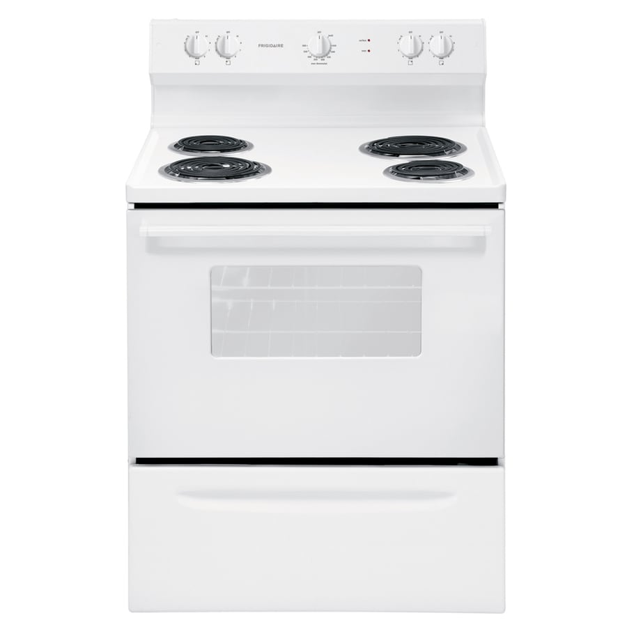 Frigidaire Freestanding 4.2-cu ft Electric Range (White) (Common: 30-in; Actual: 29.88-in)