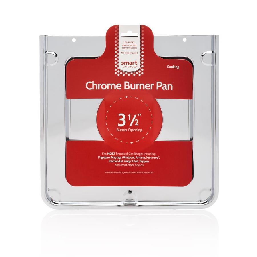 Frigidaire Chrome Square Burner Pan Cooktop Accessory