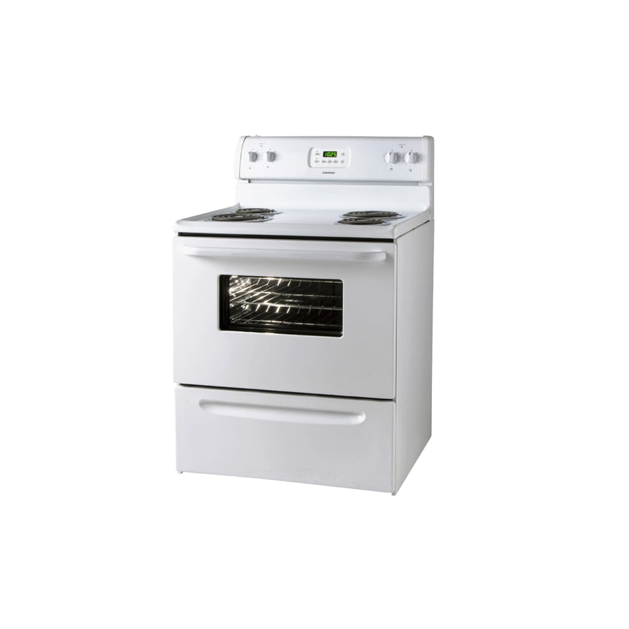 Tappan� Freestanding 4.1-cu ft Electric Range (White) (Actual: 30-in)