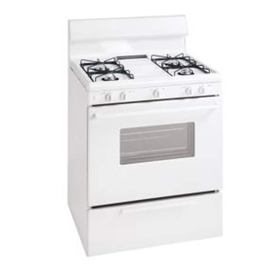 Tappan Freestanding 4.1-cu ft Gas Range (White) (Common:; Actual: 29.88-in)