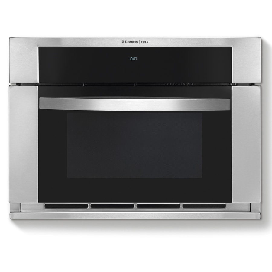Electrolux Icon 1.5-cu ft Built-In Convection Microwave with Sensor Cooking Controls (Stainless)