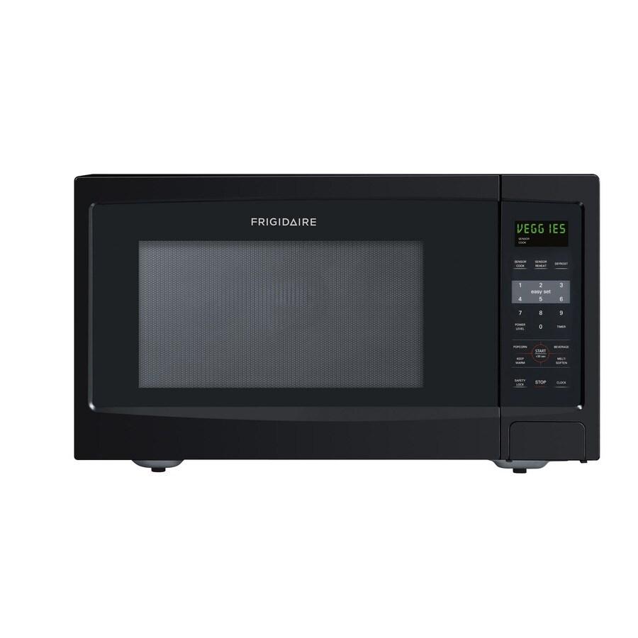 Frigidaire 1.4-cu ft 1,100-Watt Countertop Microwave (Black)