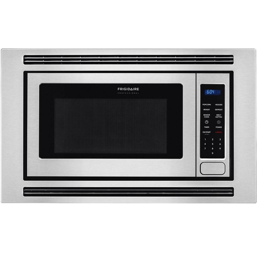 Shop Frigidaire Professional 2 Cu Ft Built In Microwave