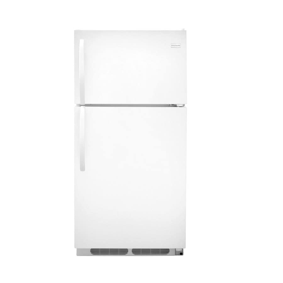 Frigidaire 14.8-cu ft Top-Freezer Refrigerator (White)