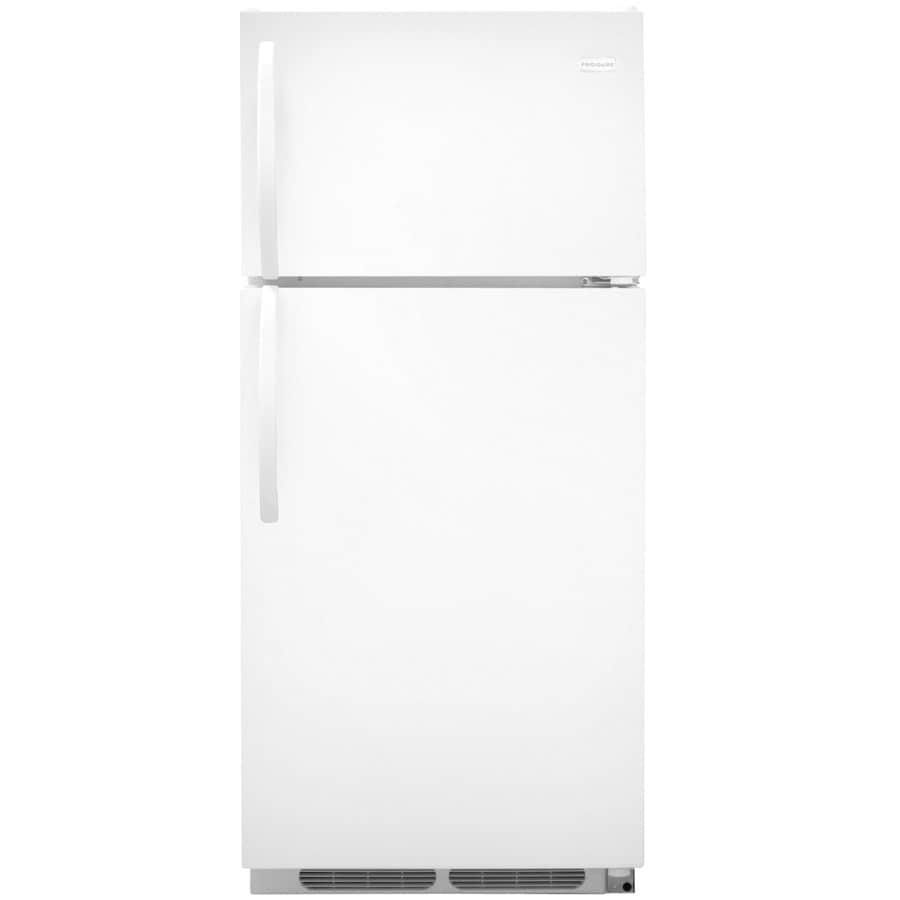 shop frigidaire 16 3 cu ft top freezer refrigerator optional sold separately white energy. Black Bedroom Furniture Sets. Home Design Ideas