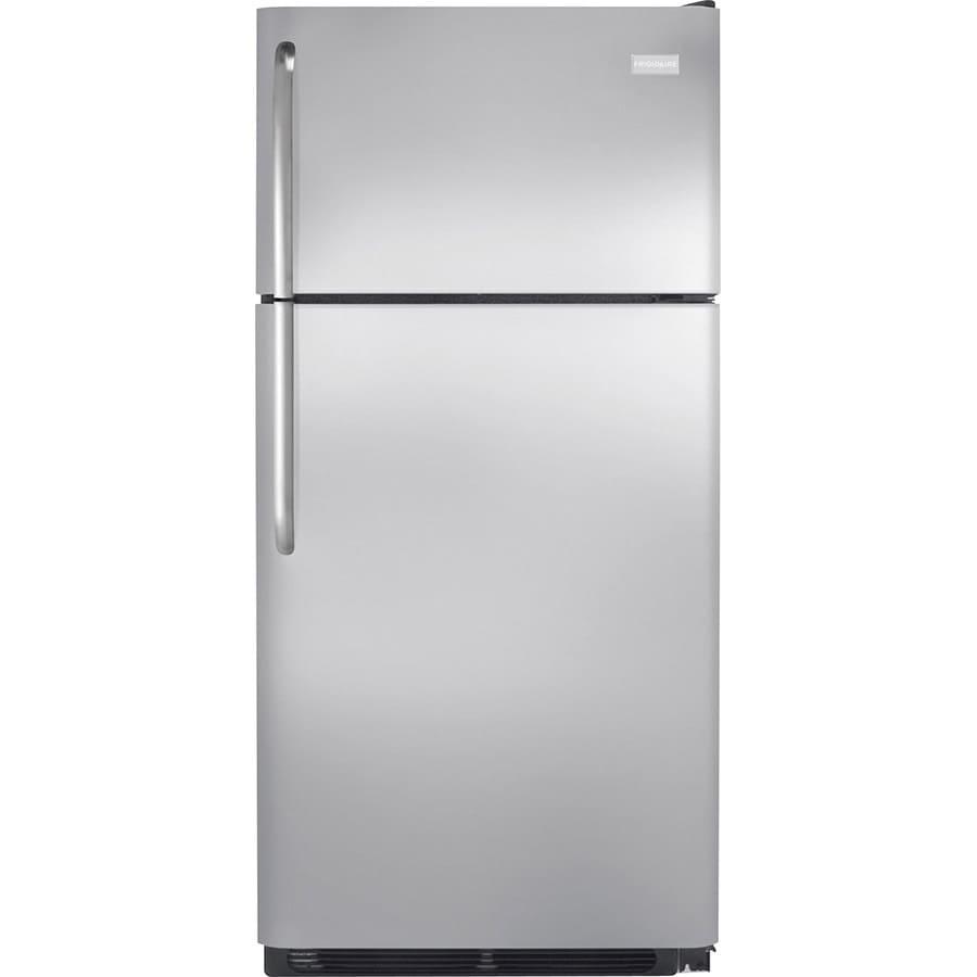 Shop Frigidaire 18 Cu Ft Top Freezer Refrigerator