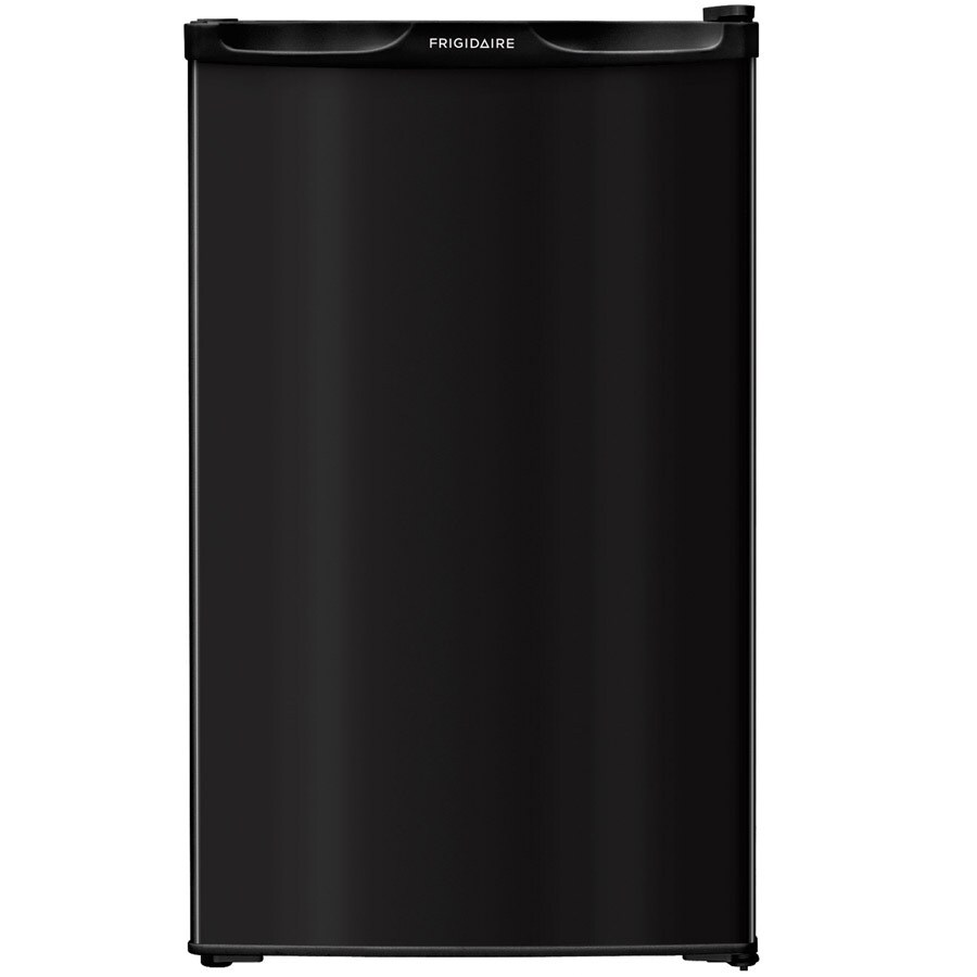 Frigidaire 4-cu ft Freestanding Compact Refrigerator with Freezer Compartment (Black)