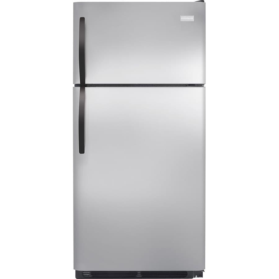 Frigidaire 14.6-cu ft Top-Freezer Refrigerator (Stainless Steel) ENERGY STAR