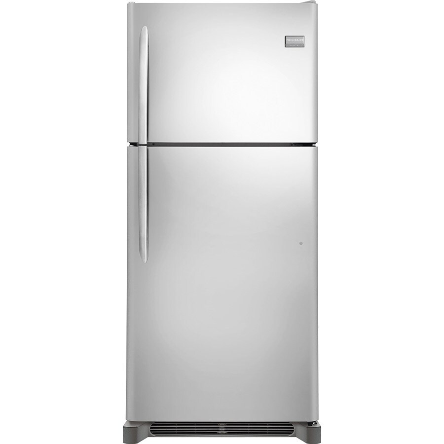 Frigidaire Gallery 20.3-cu ft Top-Freezer Refrigerator (Stainless Steel)