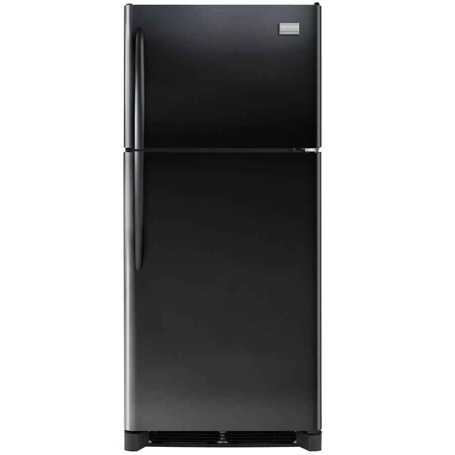 Frigidaire Gallery 20.4-cu ft Top-Freezer Refrigerator (Black)