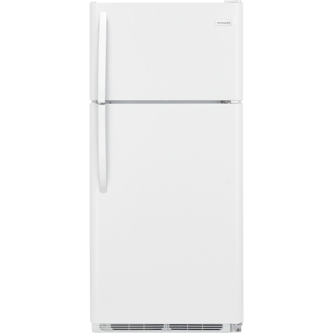 [DIAGRAM_38IS]  Frigidaire 18-cu ft Top-Freezer Refrigerator (White) in the Top-Freezer  Refrigerators department at Lowes.com | Wiring Diagram For Frigidaire Refrigerator |  | Lowe's