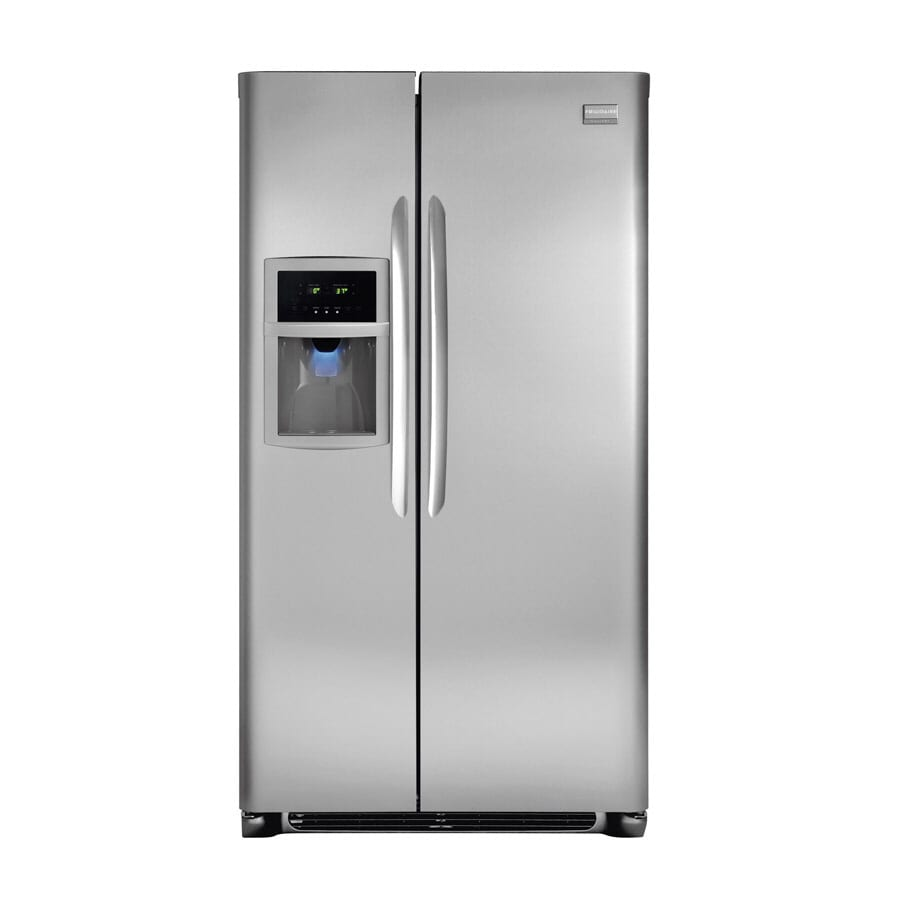 Frigidaire Gallery 22.7 cu ft Side-by-Side Refrigerator (Stainless Steel) ENERGY STAR