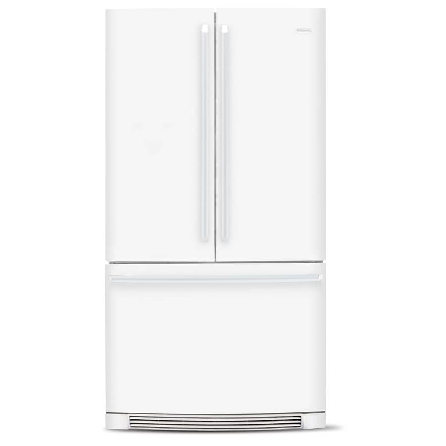 Electrolux 26.6-cu ft French Door Refrigerator with Single Ice Maker (Smooth White) ENERGY STAR