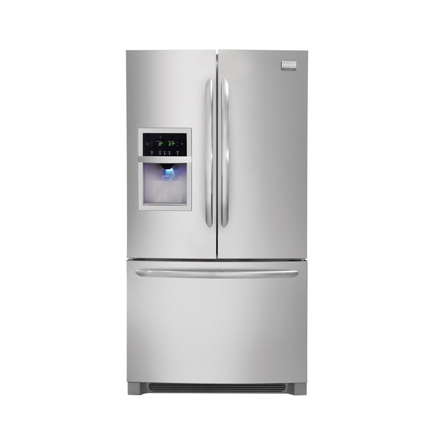 Frigidaire Gallery 26.7-cu ft French Door Refrigerator with Dual Ice Maker (Stainless Steel)