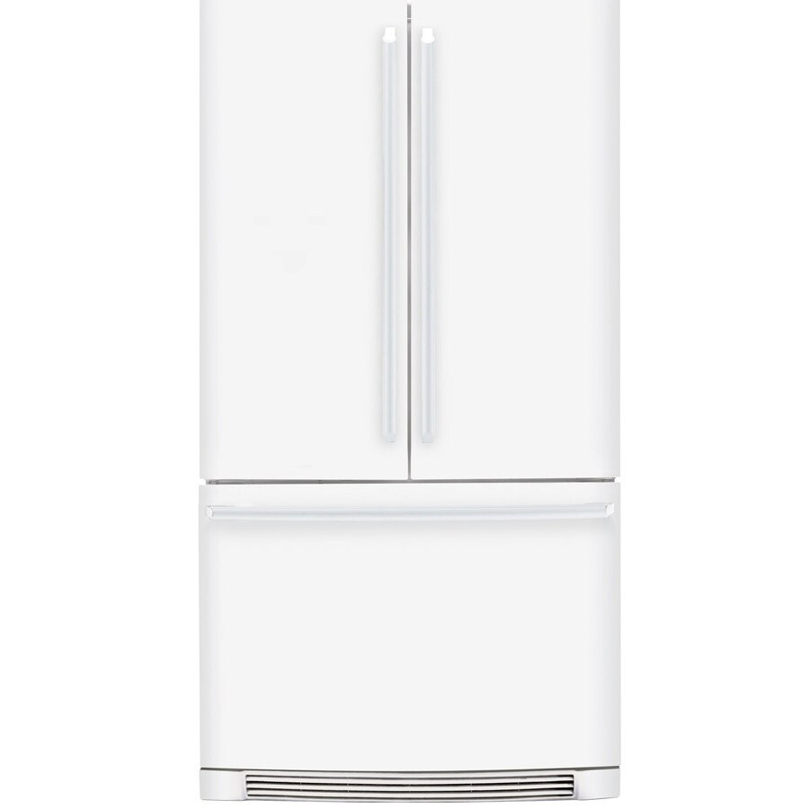 Electrolux 22.6-cu ft French Door Counter-Depth Refrigerator with Single Ice Maker (White) ENERGY STAR