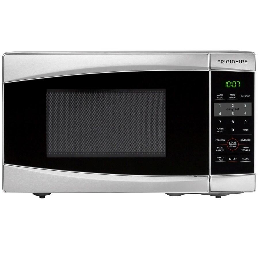 Frigidaire 0.7-cu ft 700-Watt Countertop Microwave (Stainless Steel)