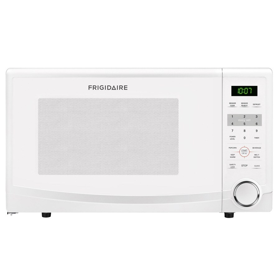 Frigidaire 1.1-cu ft 1,100-Watt Countertop Microwave (White)