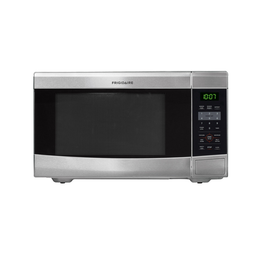 Frigidaire 1.1-cu ft 1,100-Watt Countertop Microwave (Stainless Steel)